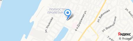 Магазин №24 на карте Астрахани