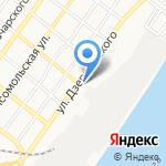 Пункт обслуживания клиентов №6 на карте Астрахани