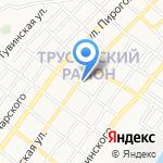 Фирма по ламинации пластиковых окон на карте Астрахани