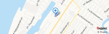 Спецгазавтотранс на карте Астрахани
