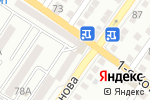 Схема проезда до компании Скарлетт в Астрахани