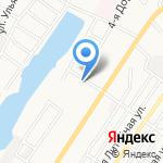 Коммунбытсервис на карте Астрахани