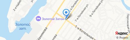 Скарлетт на карте Астрахани