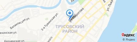 Виктория на карте Астрахани
