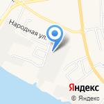 Як на карте Астрахани
