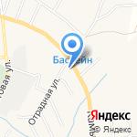 Русвен на карте Астрахани