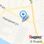 Валентина на карте Астрахани