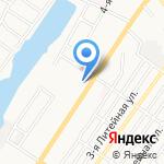 Средняя общеобразовательная школа №51 на карте Астрахани