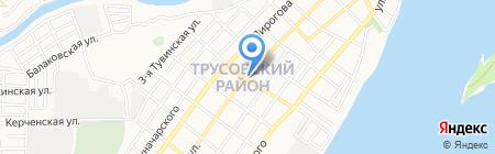 Балык-продукт на карте Астрахани