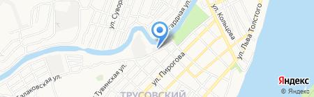 Мастер-Климат на карте Астрахани