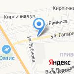 Профилактика на карте Астрахани