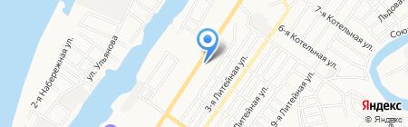 Х-Центр на карте Астрахани