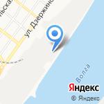 Роксел на карте Астрахани