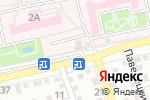 Схема проезда до компании Фармспирт-1 в Астрахани