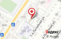 Схема проезда до компании Астраханский центр повышения квалификации в Астрахани