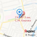 Фармспирт-1 на карте Астрахани