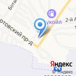 Блесна на карте Астрахани