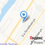 Судебный участок Советского района на карте Астрахани