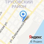 Агентство ритуальных услуг на карте Астрахани