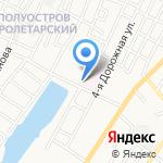 Грязелечебница на карте Астрахани