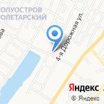Приволжская районная больница на карте Астрахани