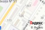 Схема проезда до компании Астраханский в Астрахани
