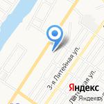 Астраханский на карте Астрахани