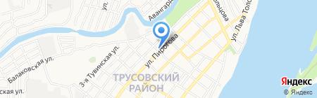 Центр социальной поддержки населения Трусовского района г. Астрахани на карте Астрахани