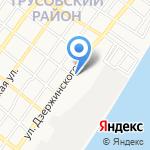 Астравита на карте Астрахани