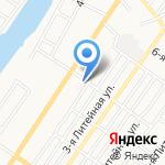 Альма Плюс на карте Астрахани