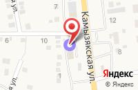 Схема проезда до компании Огонёк в Карагали