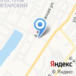 Миндаль на карте Астрахани
