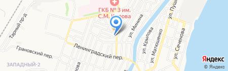 AQUALY на карте Астрахани