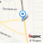 Квартал-Сити на карте Астрахани