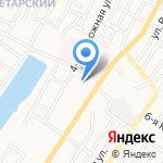 Смайл на карте Астрахани
