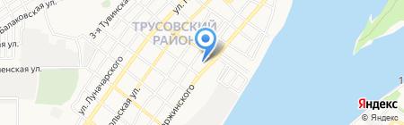 Свежесть на карте Астрахани
