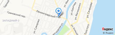 МАГсантехники на карте Астрахани