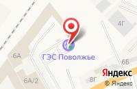 Схема проезда до компании АГЗС Газпром в Солянке