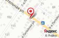 Схема проезда до компании Крепеж-Электрика в Астрахани