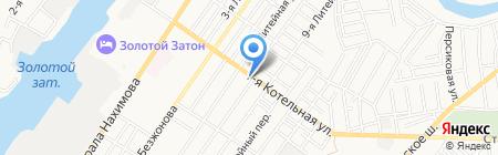 АстПотолок на карте Астрахани