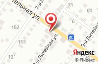 Схема проезда до компании Артелье в Астрахани