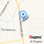 У тёщи на карте Астрахани