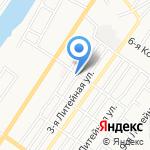 Компания на карте Астрахани