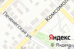Схема проезда до компании Казачий курень в Астрахани