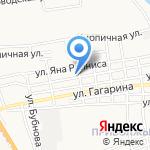 ИГВИТ НЬЮ СЕРВИС на карте Астрахани