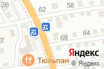 Схема проезда до компании На Новострое в Астрахани