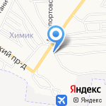 АГЗС №6 на карте Астрахани
