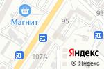 Схема проезда до компании Александрит в Астрахани