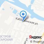 Мебель России на карте Астрахани