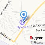 Лукойл-Нижневолжскнефтепродукт на карте Астрахани